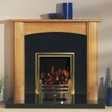 Focus Fireplaces Dalton oak fire surround