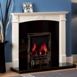 Focus-Dalby white timber fire surround