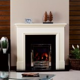 KF924 Focus-Derry white timber fire surround