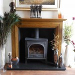 Malham wooden fire surround