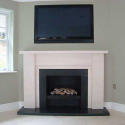 Bespoke Fireplace Apollo Granite