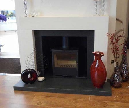 Bespoke Aquarius fireplace
