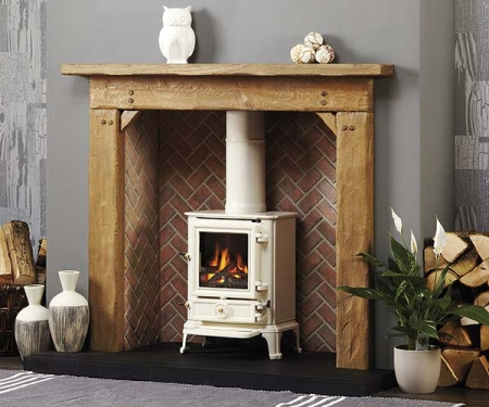 Focus Fireplaces Barkston Oak fire surround