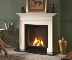 Sovereign Beaumont Agean limestone fire surround