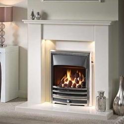 Capital-Avelar-42-Fireplace Barley White marble