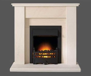 Capital-Avelar-42-Fireplace Portuguese Limestone