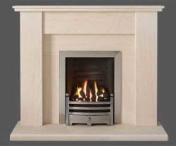 Capital-Avelar-48-Fireplace Portuguese Limestone