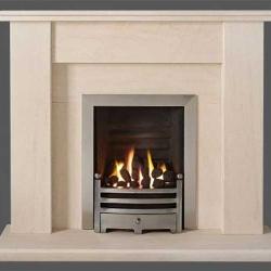 Capital-Avelar-48-Fireplace Portuguese Limestone