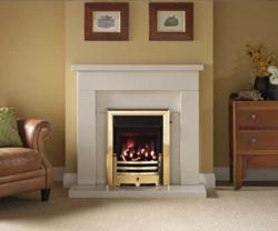 Capital-Belmonte-42-Fireplace Barley White marble