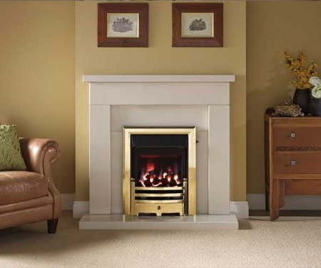 Capital-Belmonte-42-Fireplace Barley White marble
