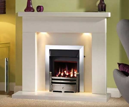 Capital-Belmonte-48-Fireplace Barley White marble-lights
