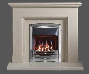 Capital-Dalton-44-Fireplace Portuguese Limestone