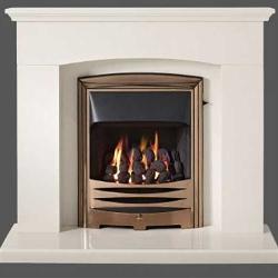Capital-Faro-42-Fireplace Barley White marble