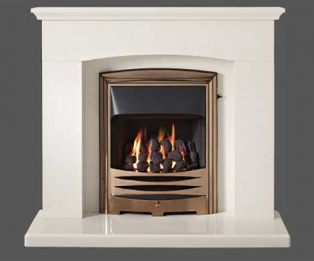 Capital-Faro-42-Fireplace Barley White marble