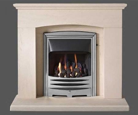 Capital-Faro-42-Fireplace Portuguese Limestone