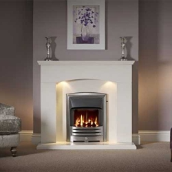 Capital-Faro-48-Fireplace Barley White marble