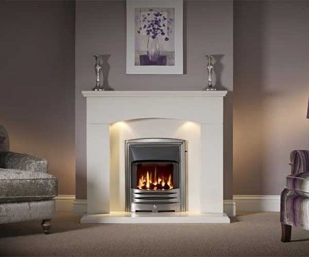 Capital-Faro-48-Fireplace Barley White marble