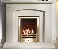 Capital-Faro-48-Fireplace Portuguese Limestone