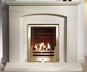 Capital-Faro-48-Fireplace Portuguese Limestone
