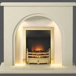 Capital-Fontelo-48-Fireplace Perla marble