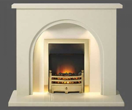 Capital-Fontelo-48-Fireplace Perla marble