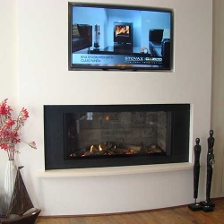 Gazco Eclipse-sq gas fire
