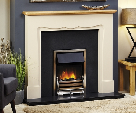 Focus Fireplaces Eloise wooden fire surround