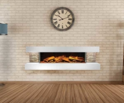 Ebonic-Compton electric fireplace