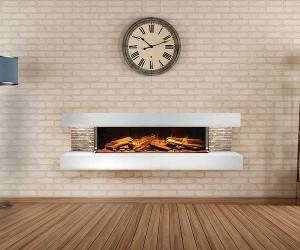 Ebonic-Compton electric fireplace