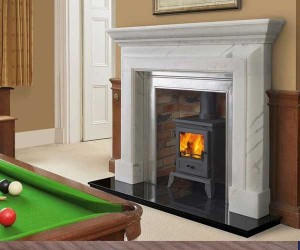 Sovereign Fitzroy-Venetian marble fire surround