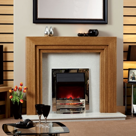 KF927 Focus-Adelaide timber fire surround