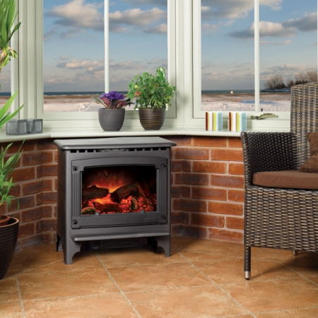 Gazco-Malborough-Medium electric stove