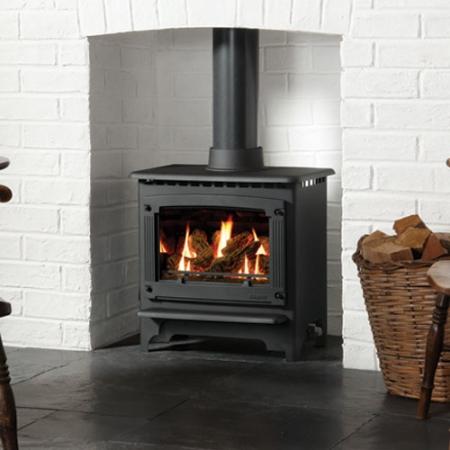 Gazco-Marlborough-medium-gas log stove