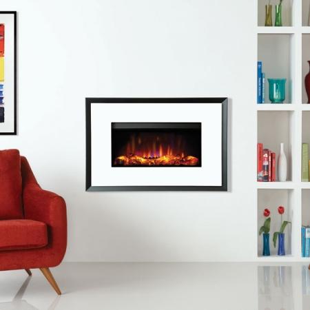 Gazco-Riva2-670-Evoke-white electric fire
