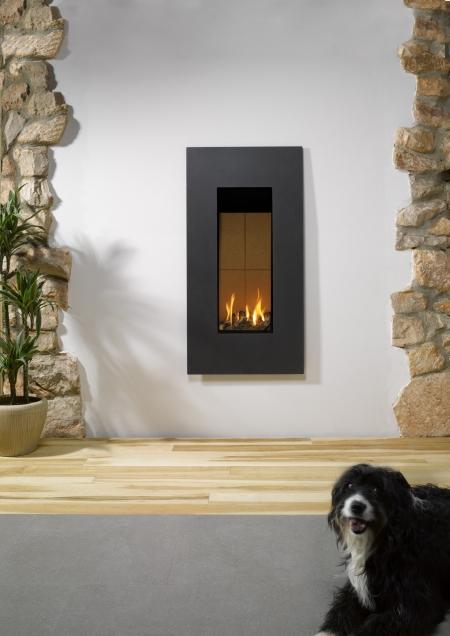 KF919 Gazco Studio 22 Steel gas fire
