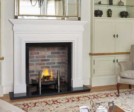 Sovereign Hampton-Agean limestone fire surround