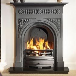 KF120_Capital-Fairburn-36-black cast iron combination fireplace