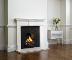 Stovax-Decorative-Arched-cast iron fireplace Insert