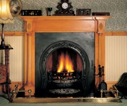 Storax-Horseshoe fireplace cast iron-insert