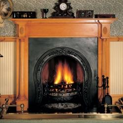 Storax-Horseshoe fireplace cast iron-insert
