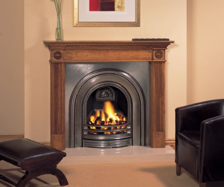 Stovax Classical-Arched fireplace cast-Insert
