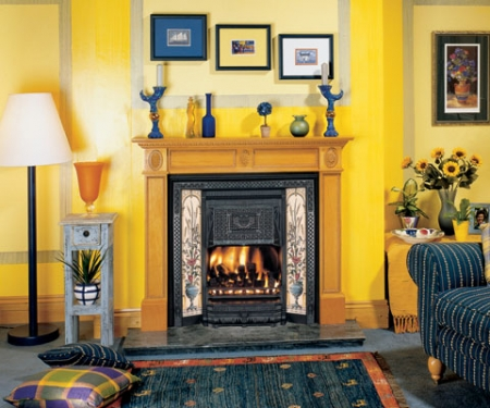 Stovax_Victorian_Convector cast iron fireplace insert