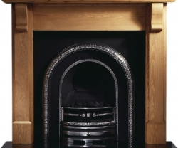 Capital Claydon cast iron fireplace insert