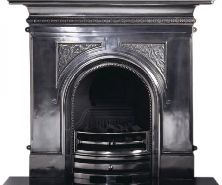 Capital Sydenham combination cast iron fireplace