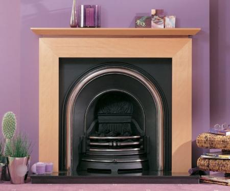 Focus Fireplaces vincent_beech fire surround