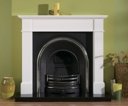 Focus Fireplaces kensington_white fire surround