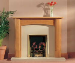 Focus Fireplaces deighton_oak fire surround
