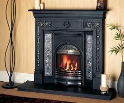 Gazco combination-gas convector-fireplace