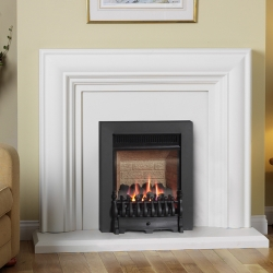 Burley-4244 flueless gas fire
