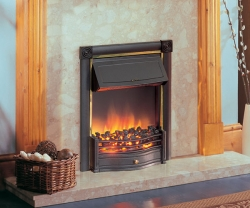 Dimplex-Horton_Black electric fire